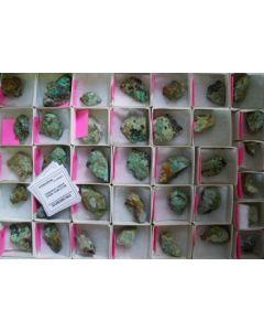 Tsumebite xx, Blue Bell Mine, CA, USA, 1 flat (top end!)