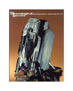 Mineralogical Record Vol. 17, #5 1986