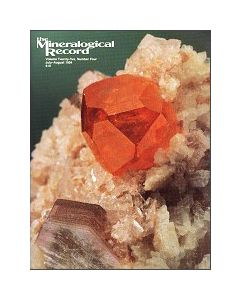 Mineralogical Record Vol. 25, #4 1994