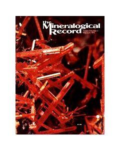 Mineralogical Record Vol. 03, #3 1972