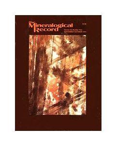 Mineralogical Record Vol. 06, #5 1975