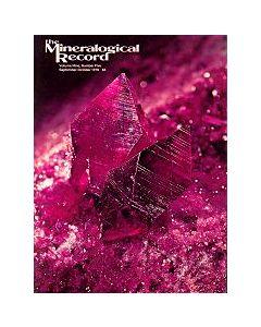 Mineralogical Record Vol. 09, #5 1978